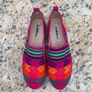 Women Inkkas Colorful Platform Espadrille Shoes  8